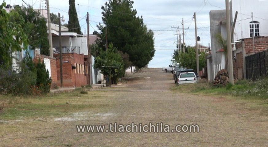 Calles de Tlachichila