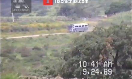Carretera Jalpa-Tlachichila 1989