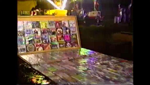 Fiestas Tlachichila 1998, Puestos, Mariachi y Castillo