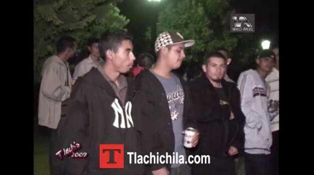 Plaza y baile de las Fiestas Tlachichila 2009