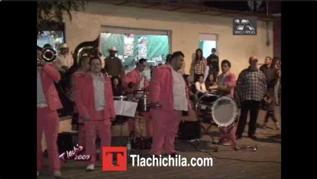 En la Plaza Fiestas Tlachichila 2009