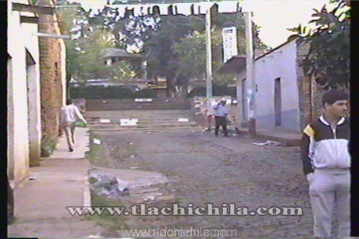 Fiestas de tlachichila 1989